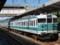 113系電車。御坊駅にて。