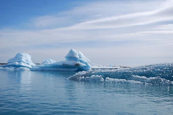 北極圏の温暖化