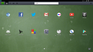 Joli OS desktop デスクトップ