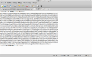 VPNサーバー設定(ovpn)ファイルの編集2