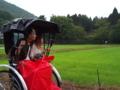 [京都] 人力車で嵐山ドライブ