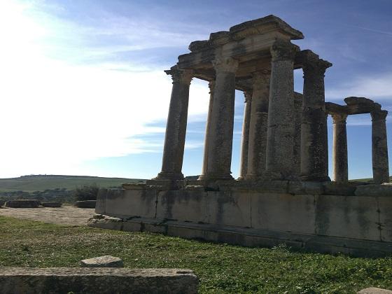 チュニジア ドゥッガ遺跡 個人旅行 世界遺産