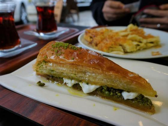 ガズィアンテップ gaziantep トルコ料理 バクラヴァ バクラワ