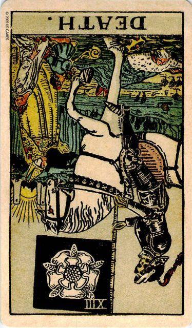 千葉の古民家でのタロット占い結果-死神