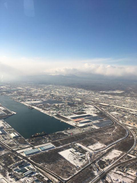 北海道上空