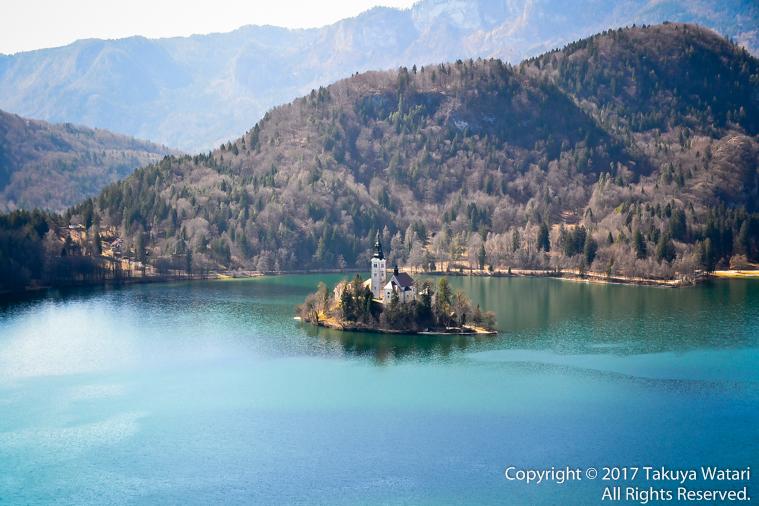 スロヴェニア、リュブリャナ、ブレッド湖の教会