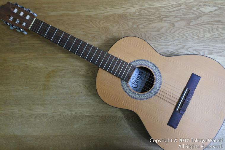 アイスランドで購入したギターの裏面とサイン