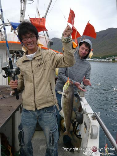 アイスランドで釣った魚