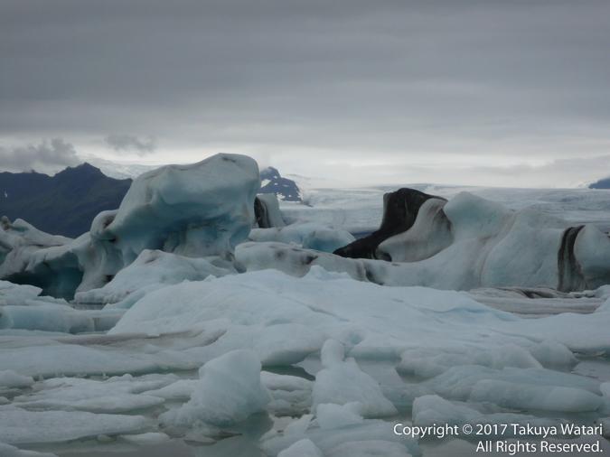 アイスランドの氷