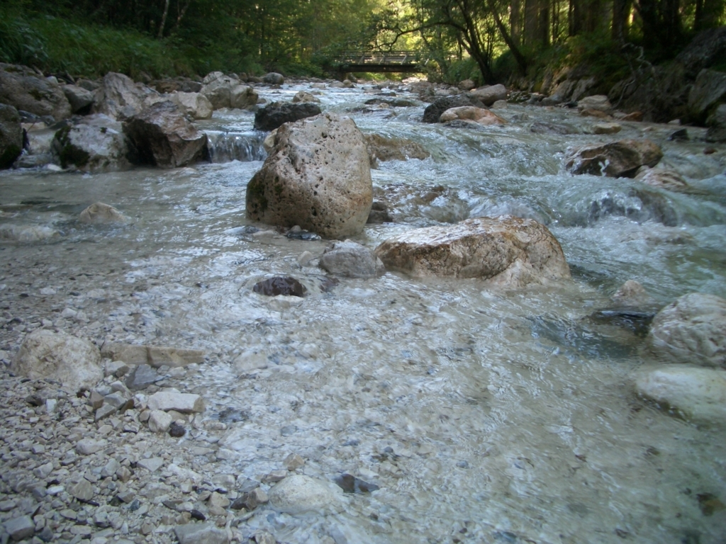 ベルヒデスガーデンの川