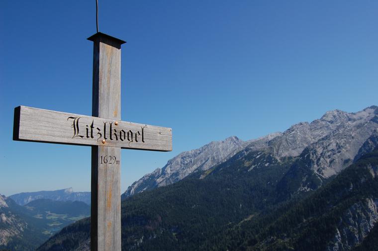 ベルヒデスガーデン国立公園内で登った山の頂上