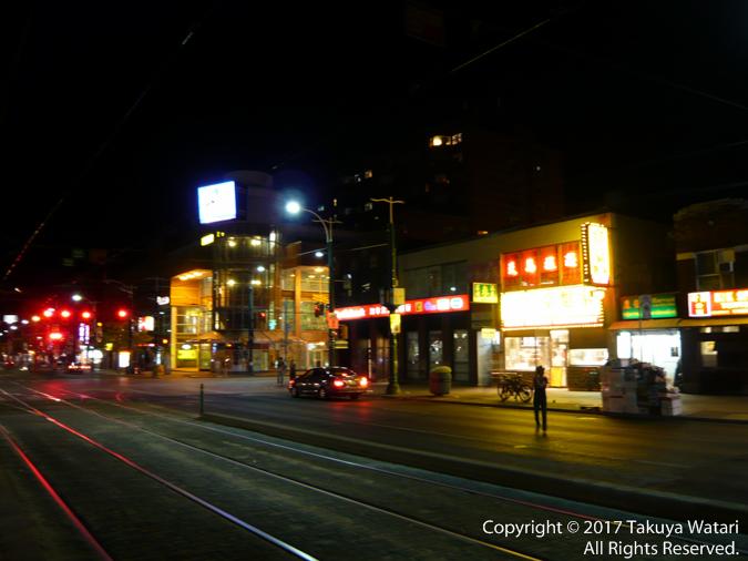 カナダのトロントの夜