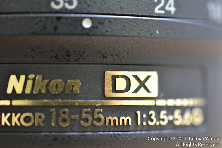焦点距離18-55mm