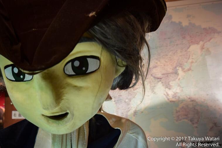 サンタマリア号のコロンブスはちょっと怖い