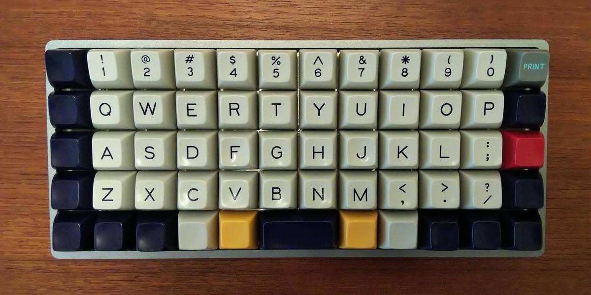 Preonic 50% 格子配列キーボード