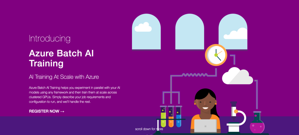 Azure Batch AI Training