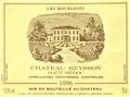 20000122 Chateau Reysson