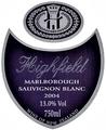 20041122 Highfield SB