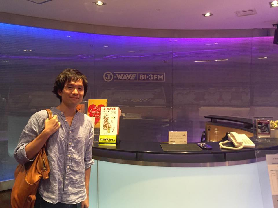 J-WAVE JK−RADIOに出演します!8月12日(金)9:15〜