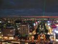 2007年のクリスマス・名古屋テレビ塔から