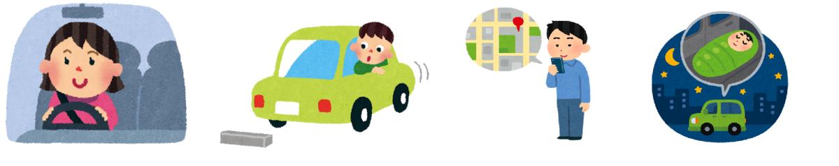 レンタカー回送ドライバーに向いている人