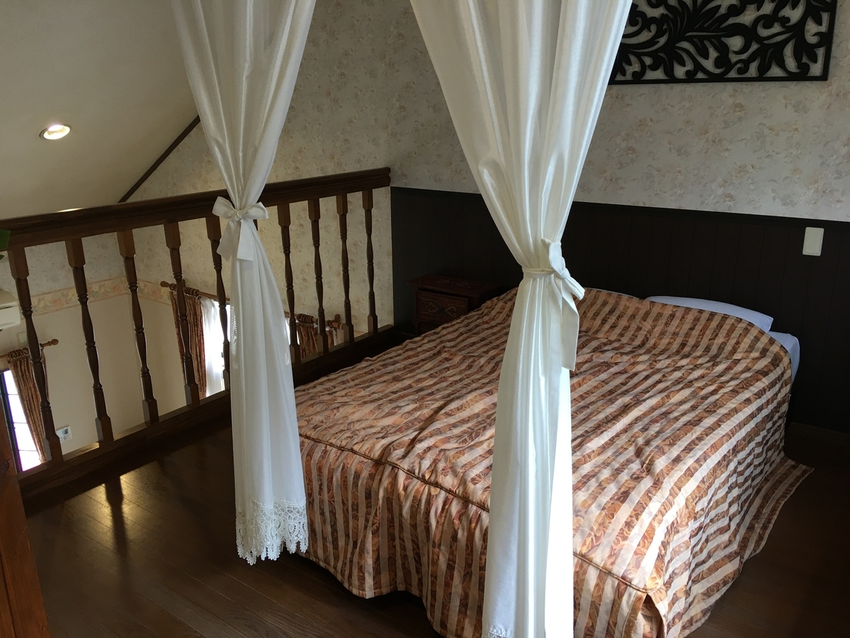 露天風呂付貸別荘伊豆ピラール寝室
