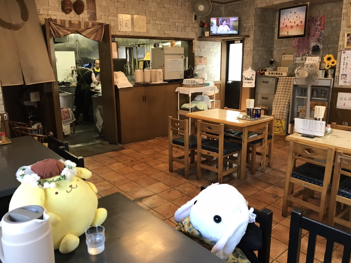 喜多方ラーメン大安食堂店内の様子
