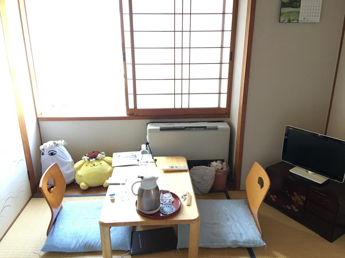 会津柳津温泉 花ホテル 滝のや お部屋