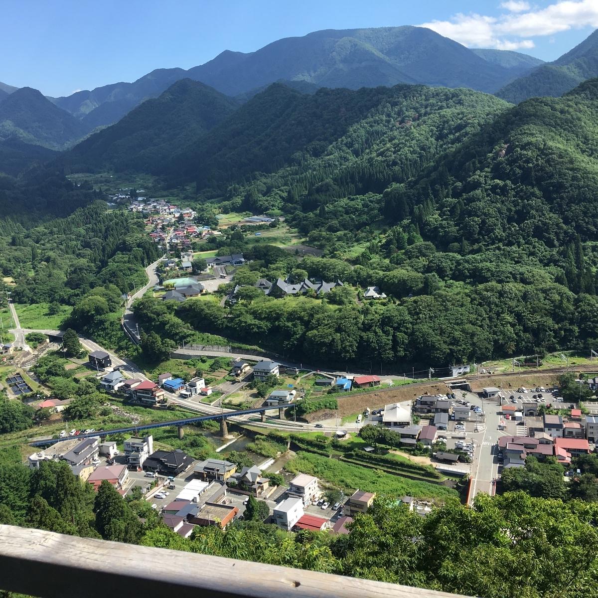 山寺 五大堂からの景色 フリー