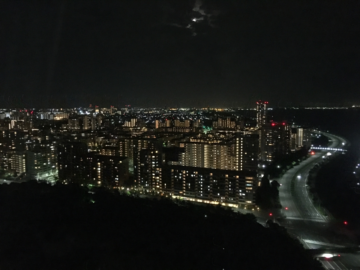 アパ リゾート東京ベイ幕張 千葉市内側 夜景