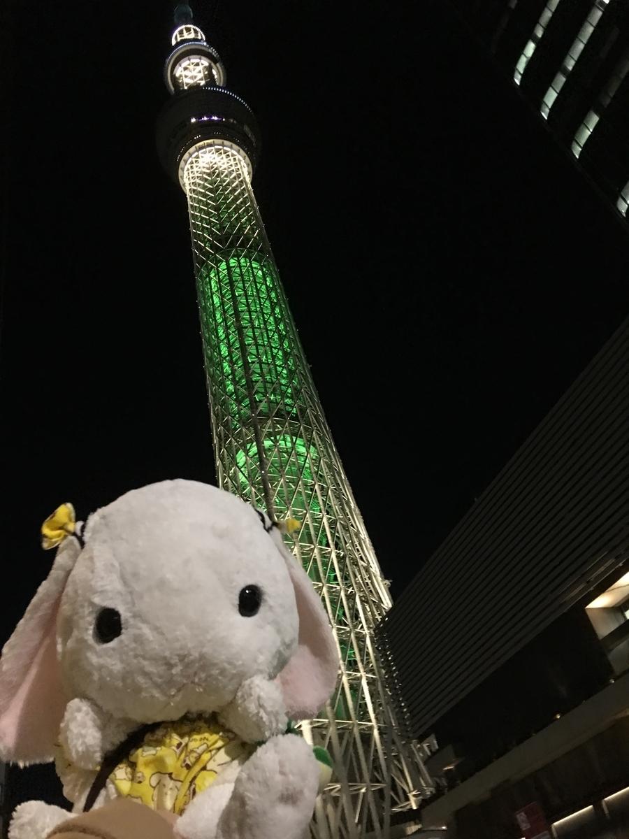 東京スカイツリーに登る
