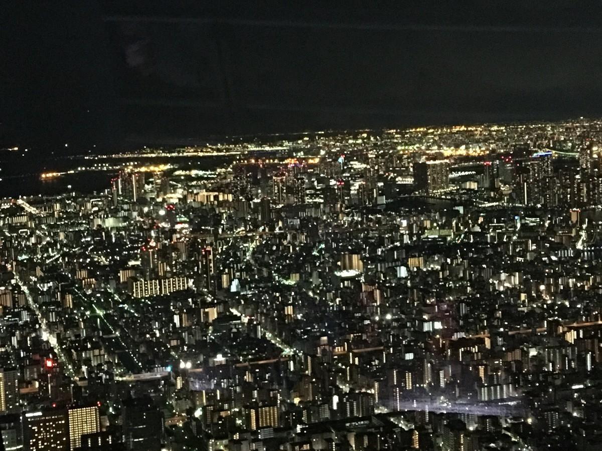 東京スカイツリー夜景フリー画像
