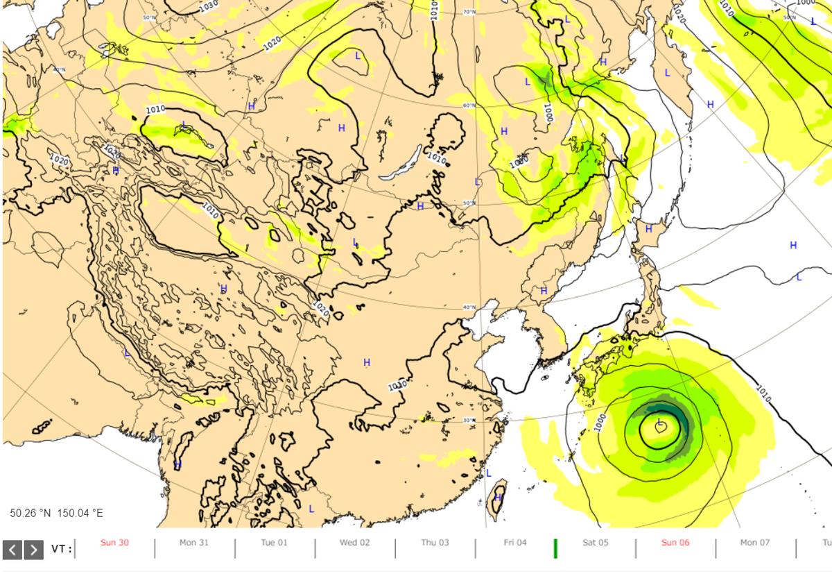 台風10号避難指示エリア