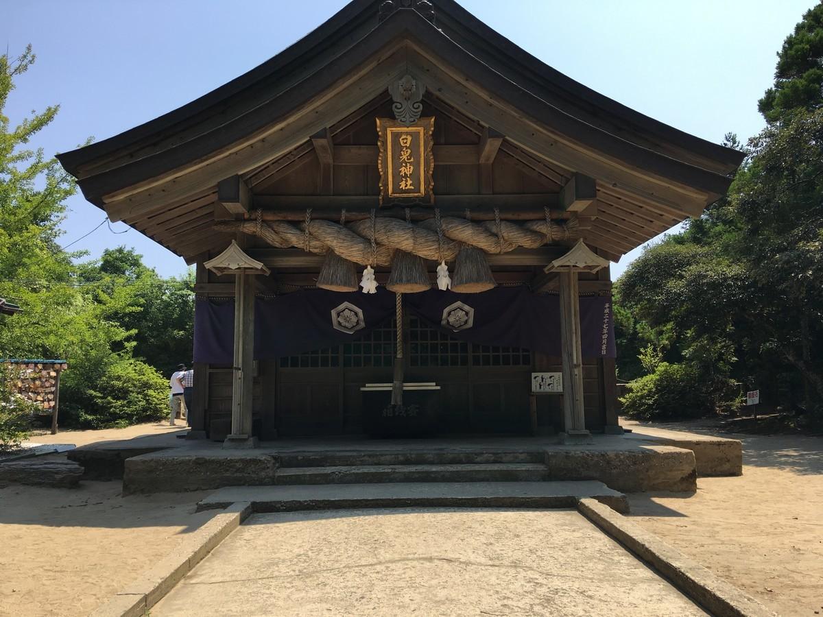 鳥取県のうさぎ神社「白兎神社」