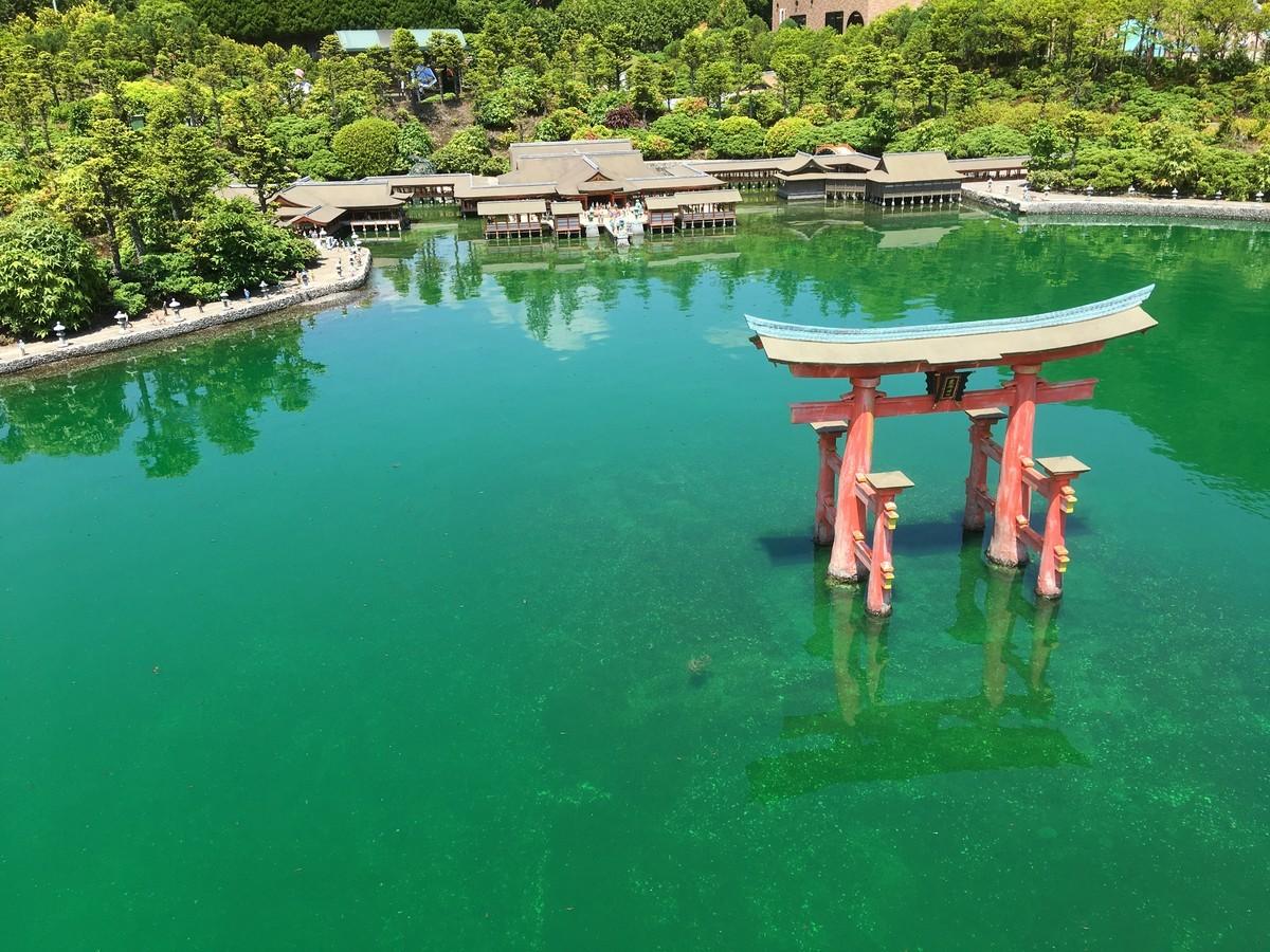 日本三大三景の宮島です