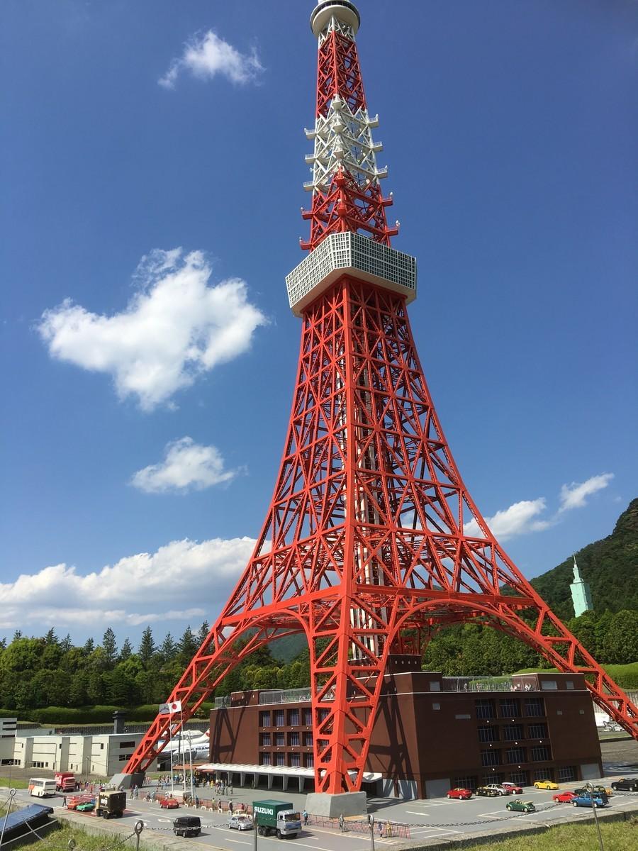 東武ワールドスクウェア 東京タワー
