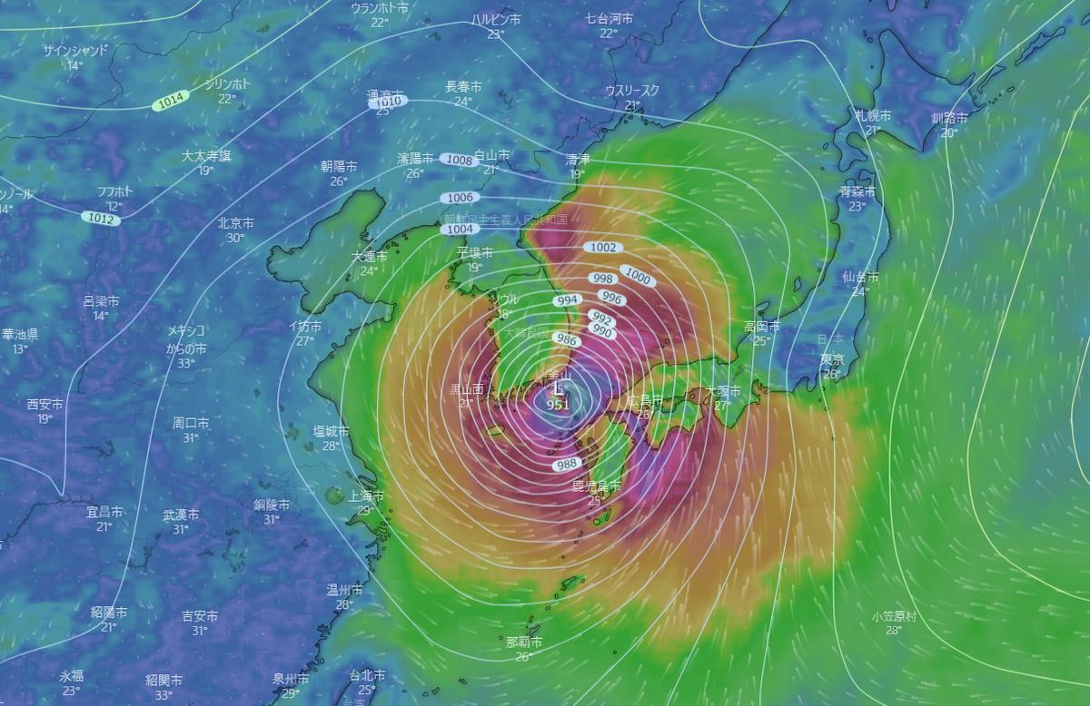 台風10号の影響でJR線始発から全線運休