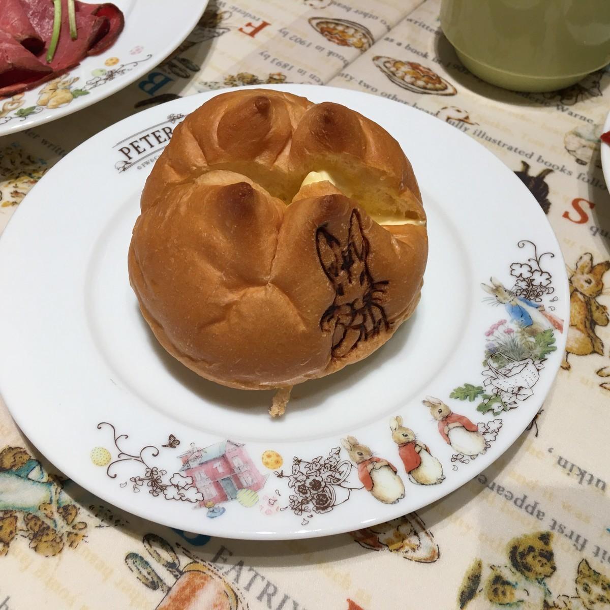 ピーターラビットカフェ パン