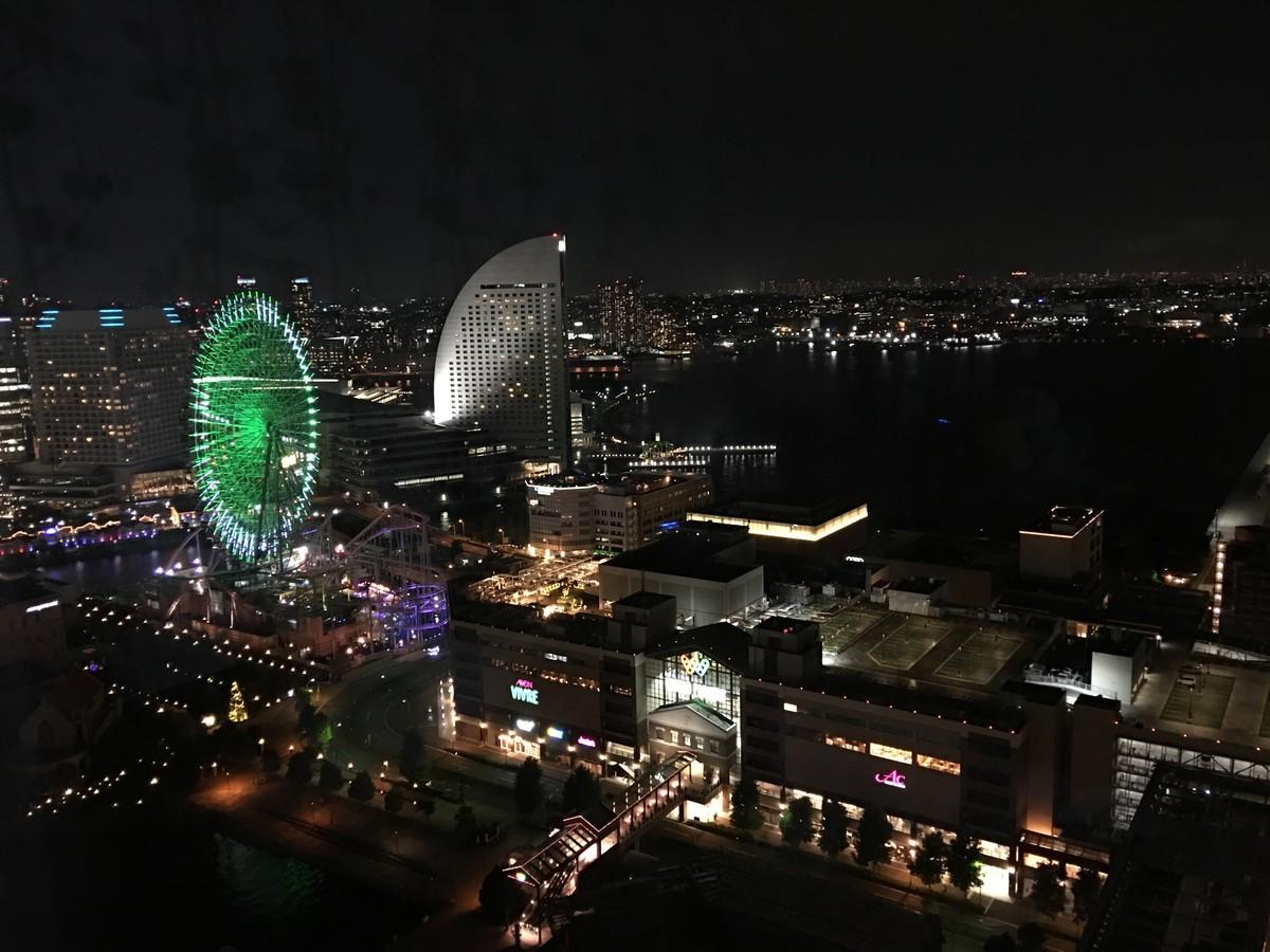 横浜で夜景が綺麗なリゾートホテル