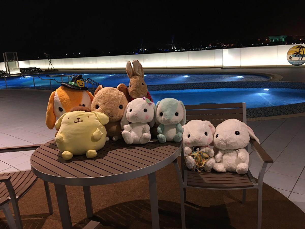 アパホテル横浜プールデッキは22:00まで利用可能