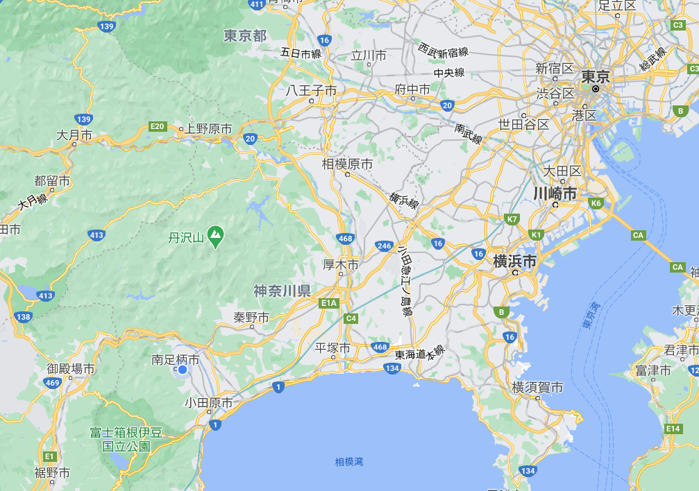 箱根駅伝コース 地図