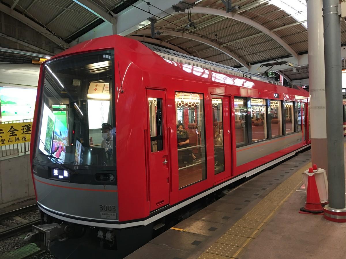 箱根登山線新型車両 3100系