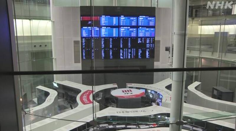 東京証券取引所 10月1日注文分はすべて無効
