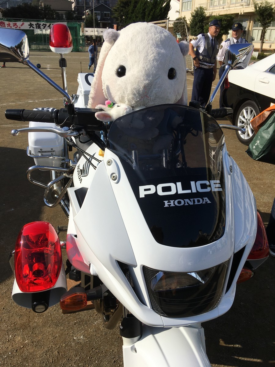 神奈川県警交通機動隊白バイ