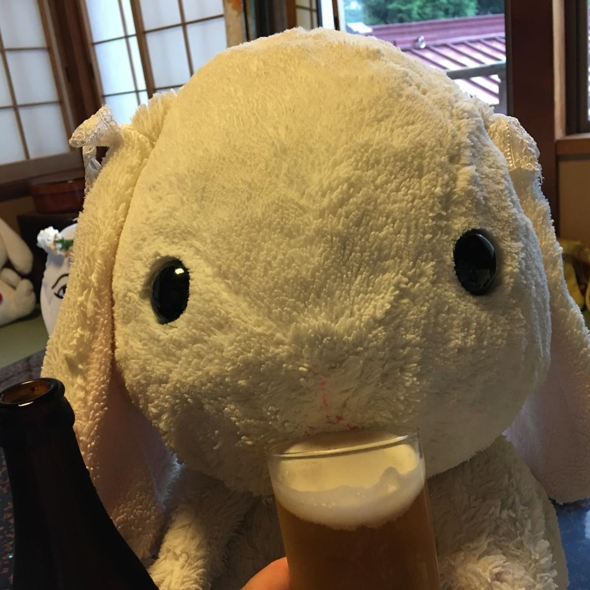 お風呂上りはやっぱりビール