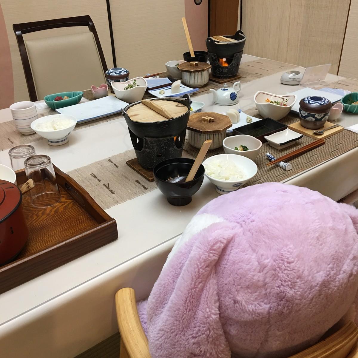 湯河原温泉 上野屋さん朝食