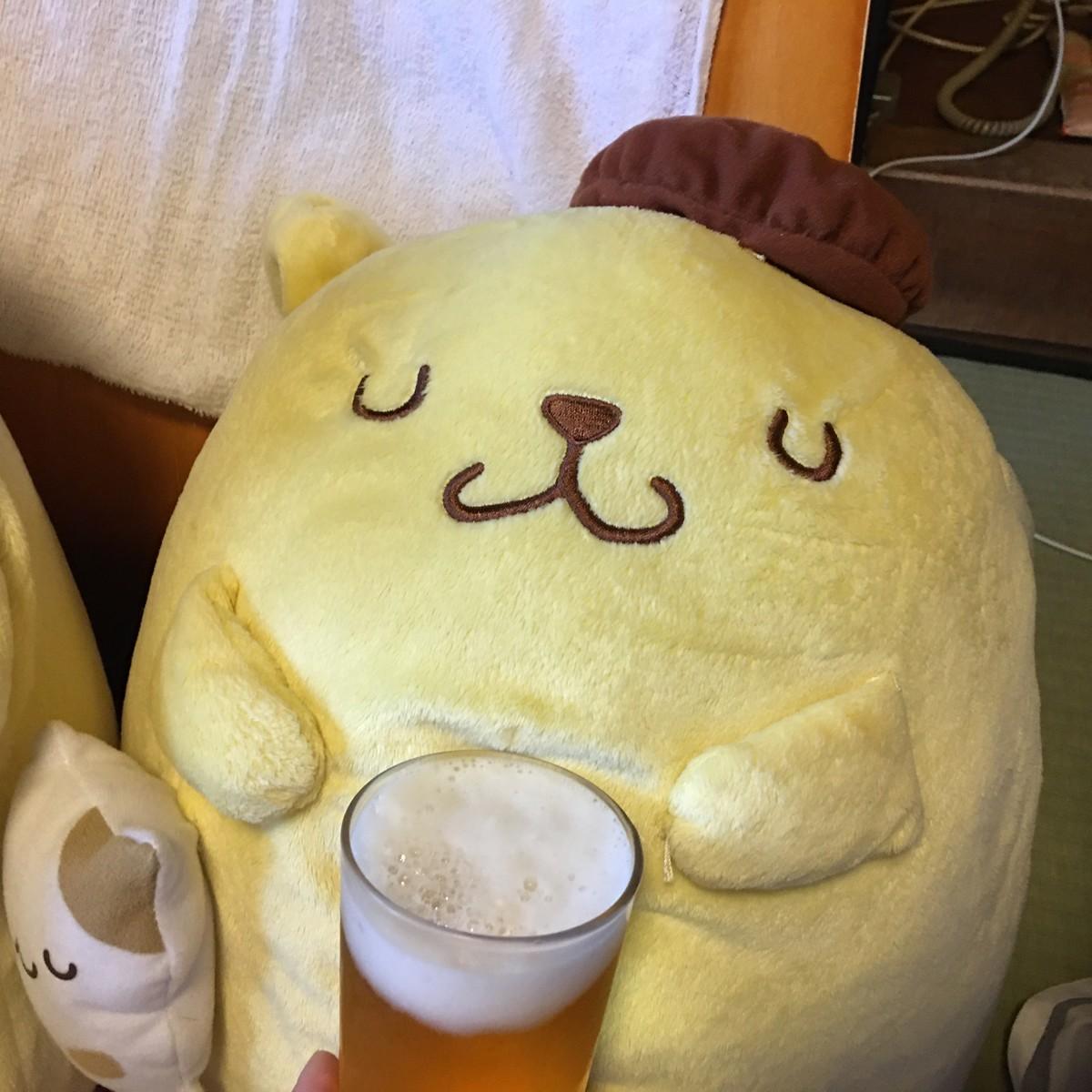 ポムポムプリン ビール