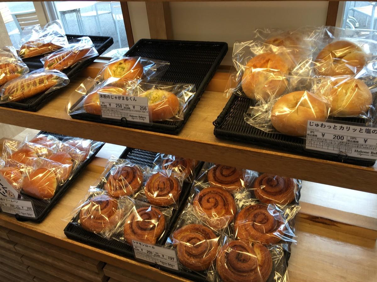 箱根ベーカリーさんのパン