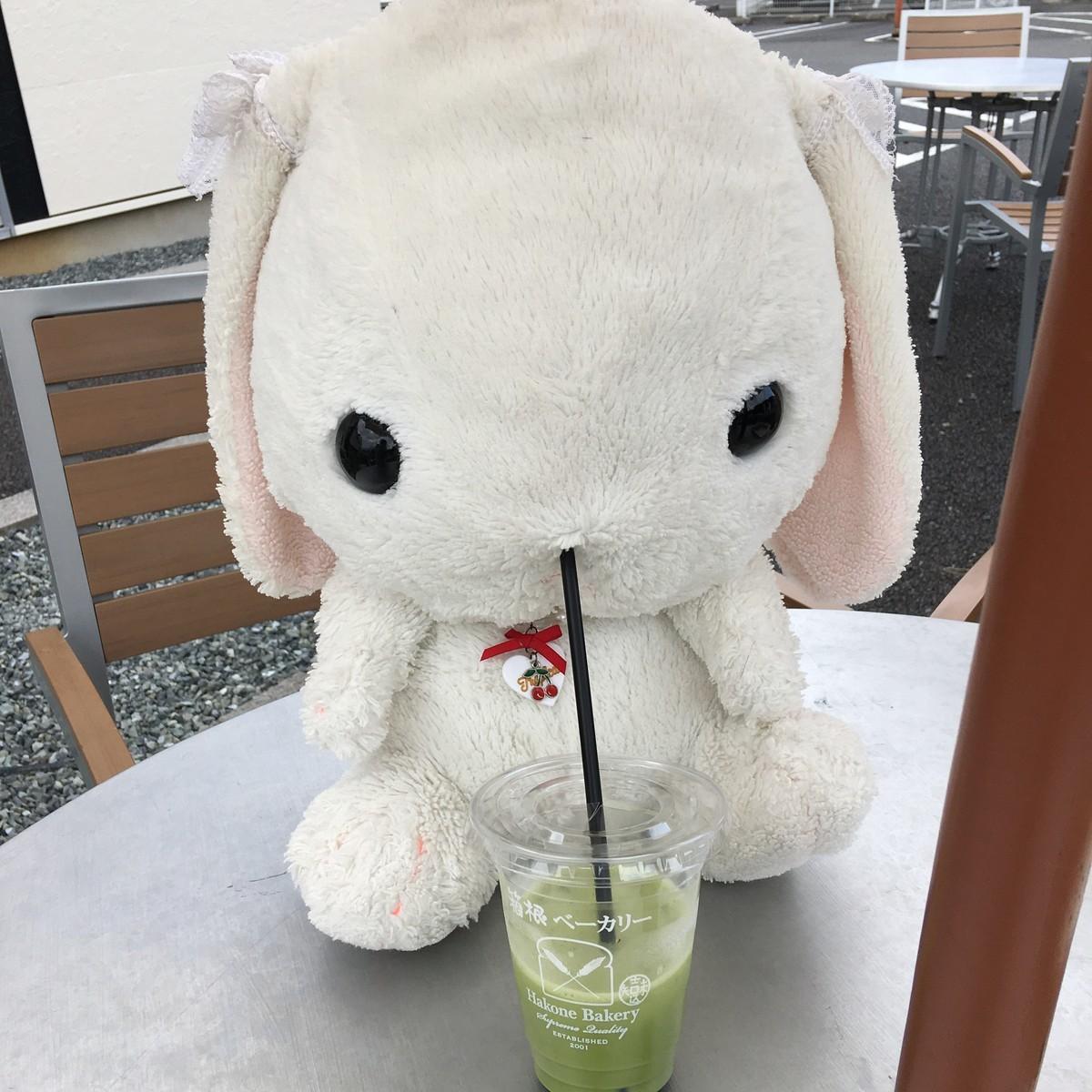 箱根ベーカリーさん。カフェできます
