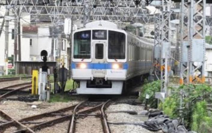 小田急線 渋沢新松田駅間で鹿と接触